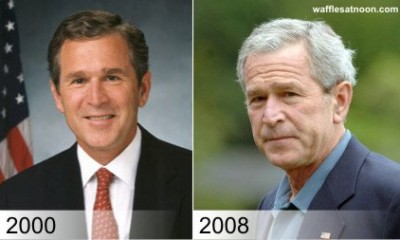 bush 43 aged in office