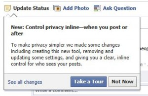Tour the New Facebook Privacy Settings, August 2011