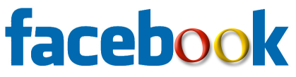 Facebook logo combined with Google logo