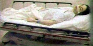 Michael Jackson Dead Body Gurney Photo