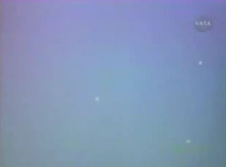 Still from NASA UFO video?
