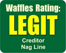 Waffles at Noon Rating Legit graphic