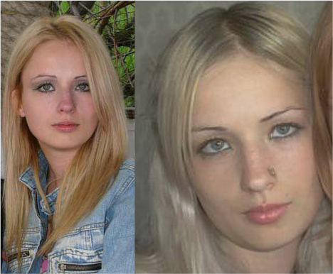 Human Barbie Doll: Before and After - 33.5KB