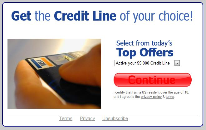 Credit300.com website screenshot