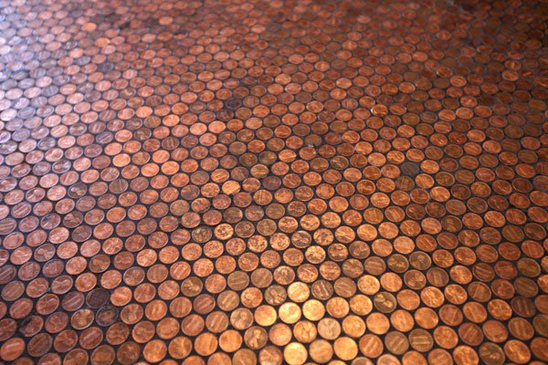 A bunch of Pennies