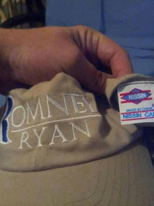 Were Romney-Ryan Caps Made in China?