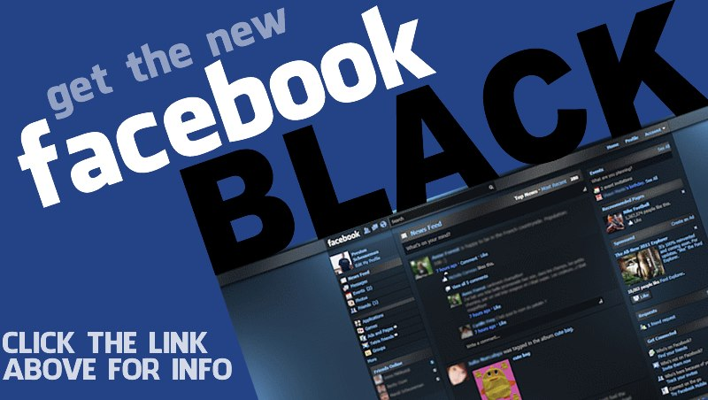 Facebook Black graphic