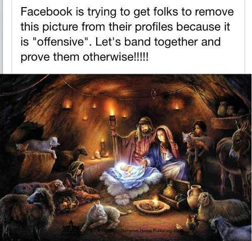 Offensive Nativity Scene graphic