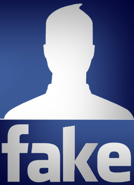 Fake Facebook graphic