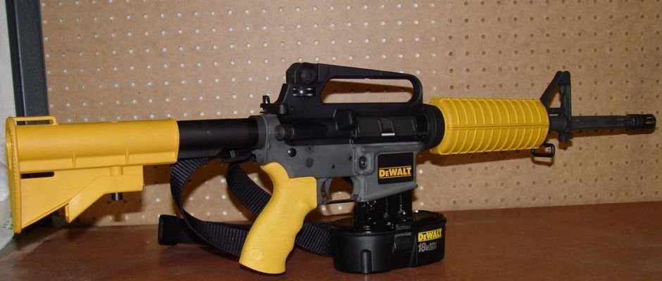 The Dewalt Nail Gun Rifle Real Or Hoax