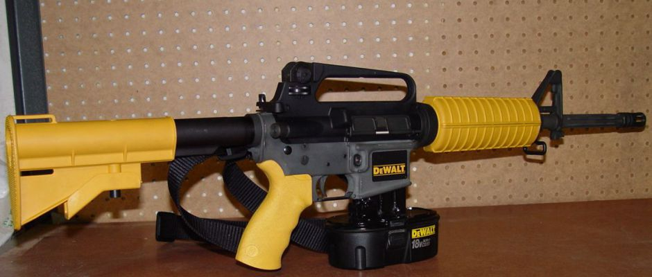 The DeWALT Nail Gun Rifle: Real or Hoax?