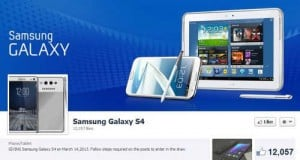 Scam Alert: Fake Samsung Galaxy S4 Giveaway on Facebook