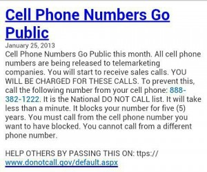 cell numbers going public