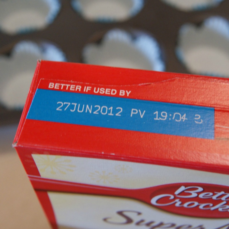 cake mix past expiration date