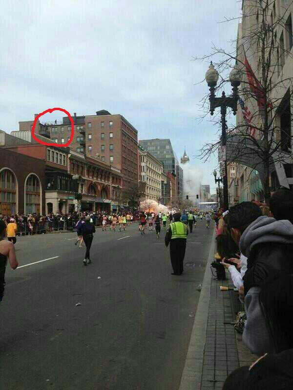 Boston Explosion Guy