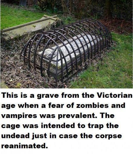 were victorian era caskets designed to trap zombies. Black Bedroom Furniture Sets. Home Design Ideas