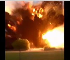 Texas Fertilizer Plant Explosion (VIDEO)