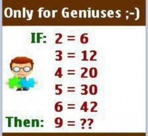 Math Riddle II: What is Your Answer? - wafflesatnoon com