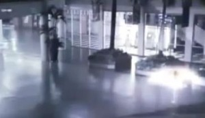 Does this Surveillance Video Show an Angel Caught on Tape?