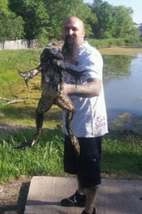 11 Pound Bullfrog (Cropped)