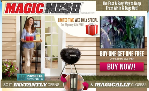 Magic Mesh website