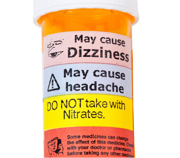 Side effects label