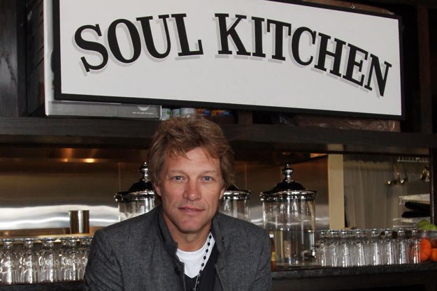 Jon Bon Jovi at Soul Kitchen Restaurant