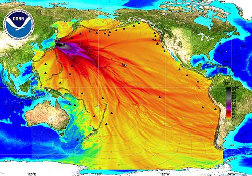 Fake Fukushima Toxic Water Plume Map