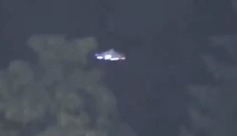 Supposed UFO seen in Canada