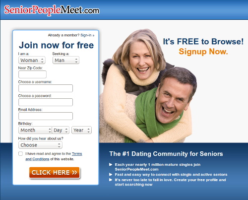 Reviews senior dating sites