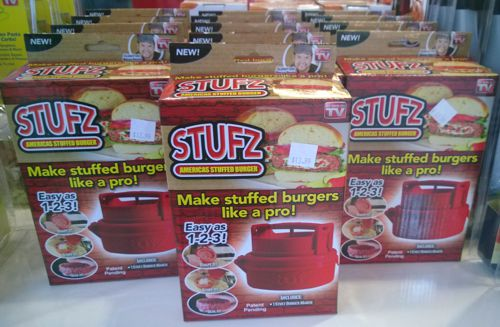 This Stufz display was seen in an As Seen on TV store in Las Vegas NV in Feb. 2014.