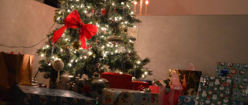 Christmas Tree and Presents