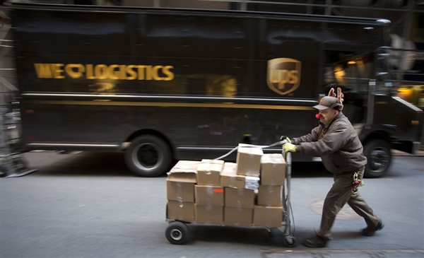 Christmas UPS Deliveries
