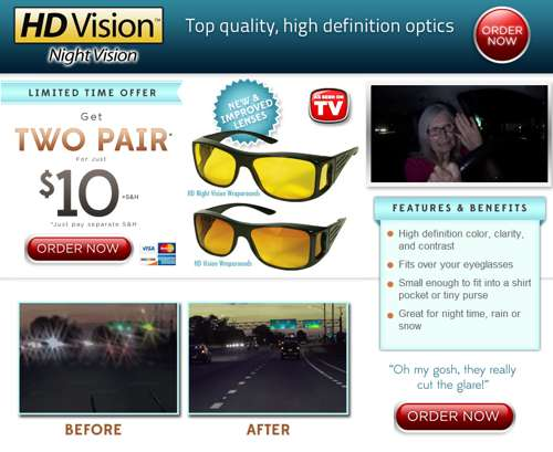 hd vision night vision review