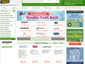 Ebates website screenshot