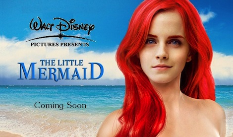 Emma Watson to Star in Little Mermaid Reboot?