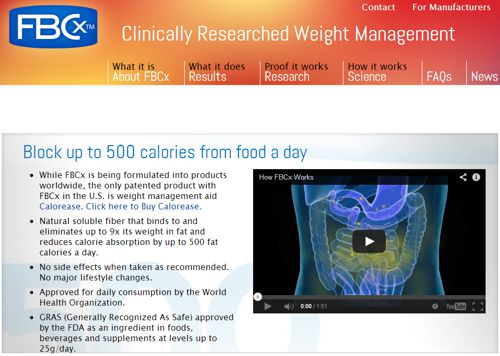 Dr. Oz Show Shines Spotlight on Weight Management Aid FBCx