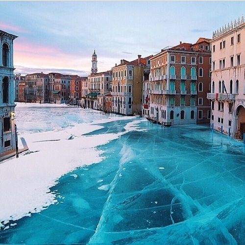 Photo of Frozen Venice?