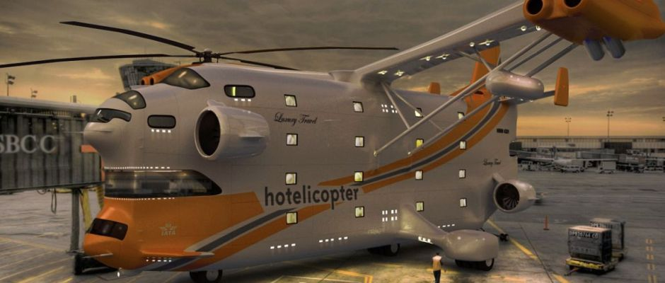 Classic Hoax: The Hotelicopter