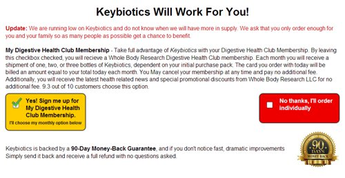 Whole Body Research Keybiotics Review