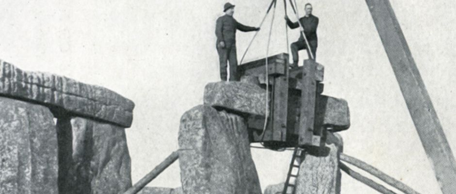 Was Stonehenge Built in 1898 or 1954?