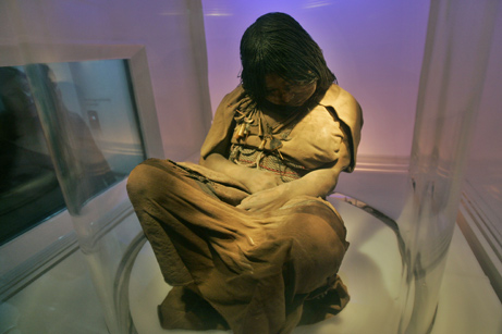 La Doncella Frozen Incan Mummy Girl