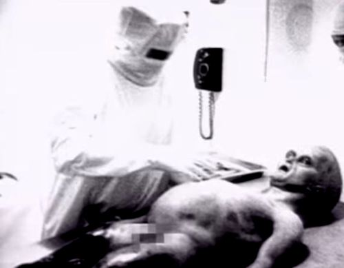 Hoaxed Alien Autopsy Film
