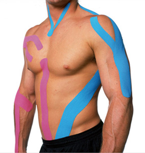 Kinesio Tape on male