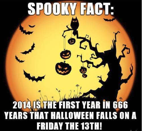 halloween on friday the 13th meme hoax
