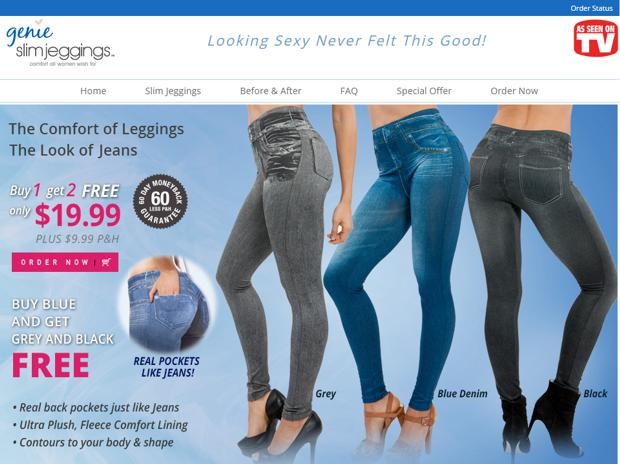 Jeggings commercial