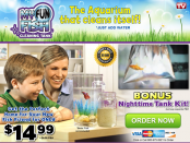My Fun Fish Tank website screenshot 2015