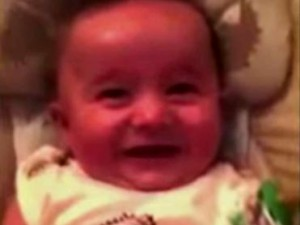 baby drunk laugh