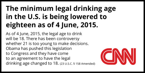 Sample Essay on Lowering the American Drinking Age