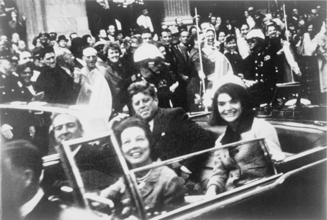 JFK before assassination